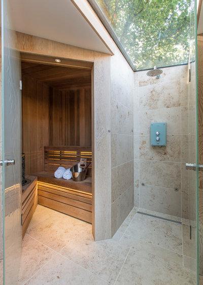 Contemporary Bathroom by KSR Interiors