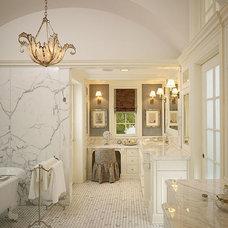 Traditional Bathroom by Stephanie Wohlner Design
