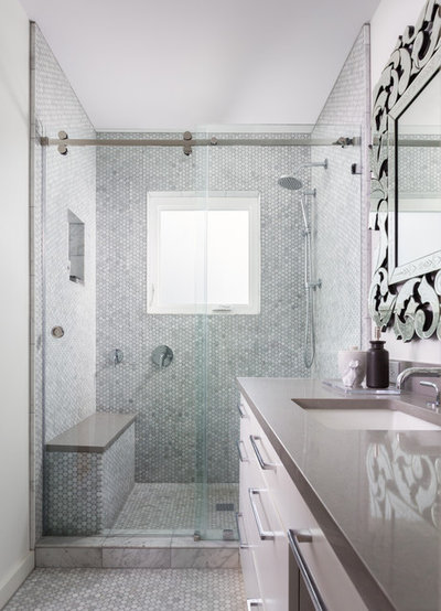 Room Of The Day Master Bath Gets The Luxe Treatment