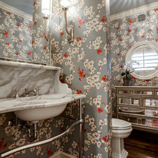 Traditional Bathroom by Maddie G Designs / Shop Maddie G