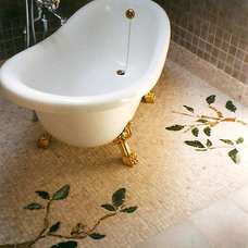 Eclectic Bathroom by New Leaf Interiors