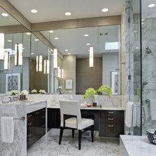 Contemporary Bathroom by Handman Associates