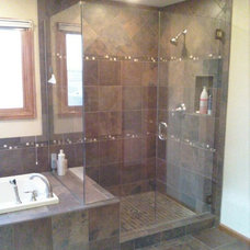 Traditional Bathroom by The Perfect Edge, LLC