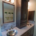 Curved House Contemporary Bathroom Kansas City By