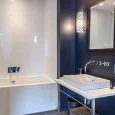 Contemporary Bathroom by Wellbuilt Company