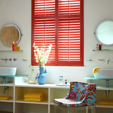 Contemporary Bathroom by Weatherwell Elite - Aluminum Shutters