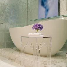 Contemporary Bathroom by The Englander Building Company