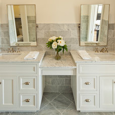 Transitional Bathroom by Redbud Custom Homes