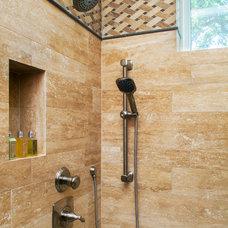 Traditional Bathroom by Dawn Hearn Interior Design