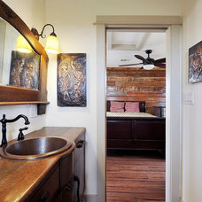 Traditional Bathroom by Capstone Custom Homes