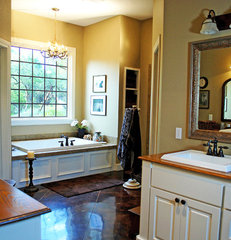 traditional bathroom by JOHN DANCEY Custom Designing/Remodeling/Building