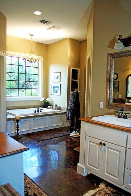 Traditional Bathroom by JOHN DANCEY Custom Designing/Remodeling/Building