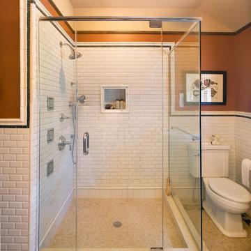 Hill House Craftsman Shower