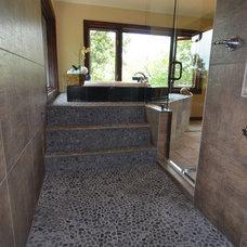 Contemporary Bathroom by Prava Luxury Tile & Stone