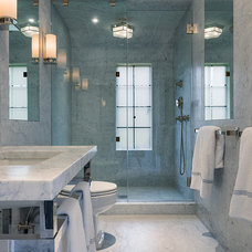 Contemporary Bathroom by E. B. Mahoney Builders, Inc.