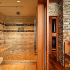 Contemporary Bathroom by Mike Knight Construction