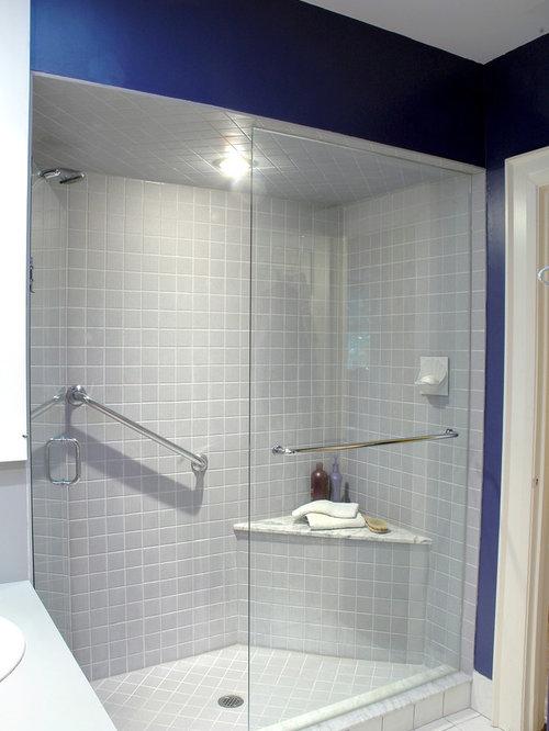 Shower Corner Seat | Houzz