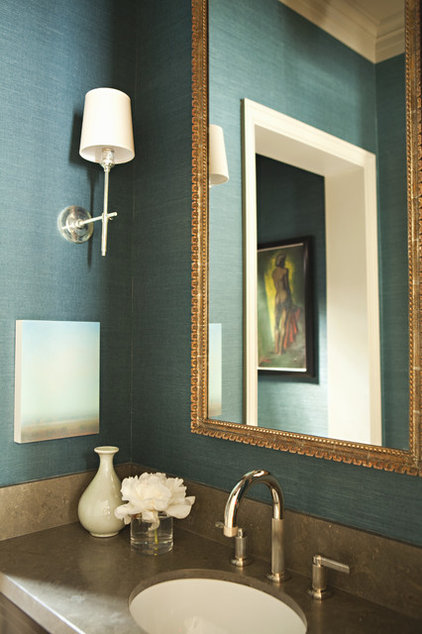 Transitional bathroom by tim barber ltd architecture for Houzz bathroom design guide