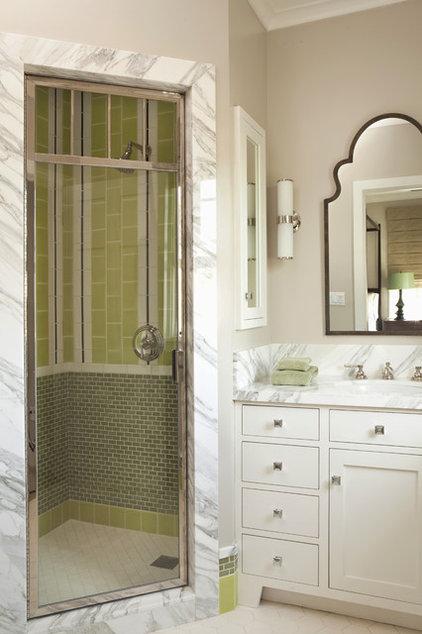Transitional Bathroom by Tim Barber LTD Architecture & Interior Design