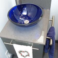 Contemporary Bathroom by brian fitzmaurice, general contractor