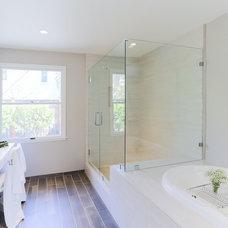Transitional Bathroom by JL Interior Design, LLC