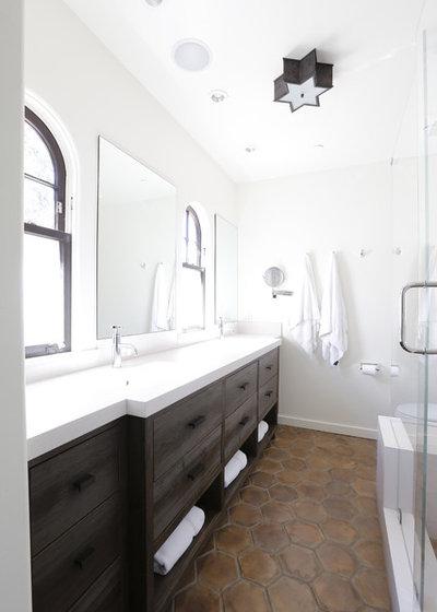 Contemporary Bathroom by Allwood Construction Inc