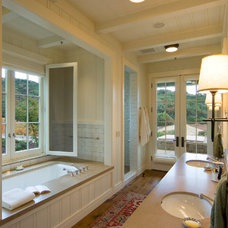 contemporary bathroom by JMA (Jim Murphy and Associates)