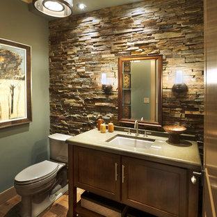 Inspiration for a craftsman bathroom remodel in Philadelphia