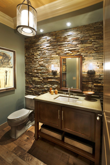 Craftsman Bathroom by Norman Kohl for Nathan Mayo & Associates