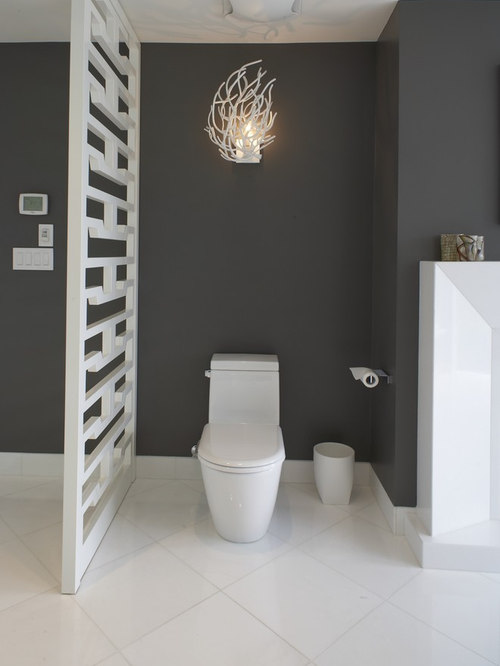 Toilet decorating ideas houzz for Washroom decoration designs