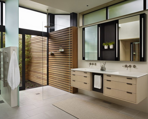 modern shower design - Modern Bathroom