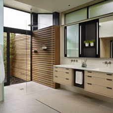 Modern Bathroom by DeForest Architects