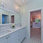 Carpinteria Foothills Residence Modern Bathroom