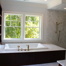 Traditional Bathroom by Shawna Feeley Interiors