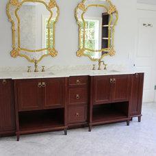 Traditional Bathroom by Shawna Feeley Interiors