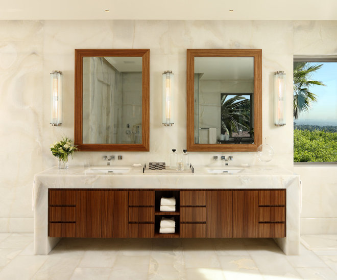 Contemporary Bathroom by David Phoenix Interior Design