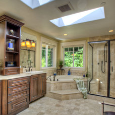 Mediterranean Bathroom by Laurie Lile Designs