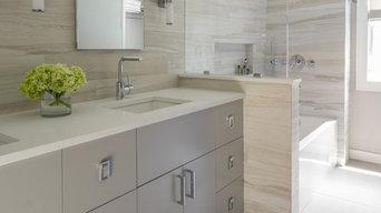 Hingham, MA - Contemporary Kitchen, Baths, Interiors