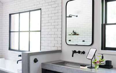 10 Elements of Industrial-Style Bathrooms