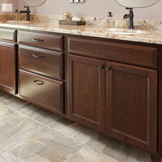 Transitional Bathroom by The Cabinet Store