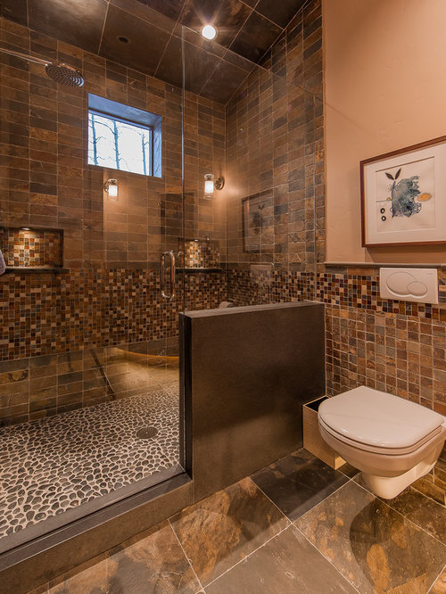 Brown Tile Design Ideas Amp Remodel Pictures Houzz