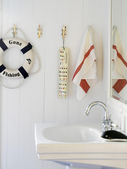 beach style bathroom by CapeRace Cultural Adventures