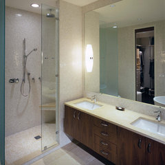 modern bathroom by Hirsch Associates LLC