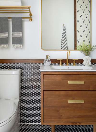 Contemporary Bathroom by Banner Day Interiors