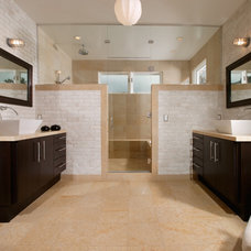 Contemporary Bathroom by Kenneth Brown Design