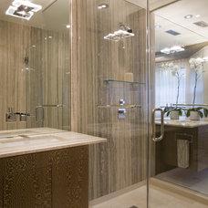 Contemporary Bathroom by Studio Santalla, Inc