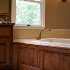 Traditional Bathroom by Life-Style Design, LLC