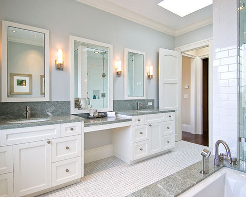 Best Sit-Down Vanity Design Ideas & Remodel Pictures