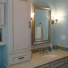 Traditional Bathroom by Essence Design Studios