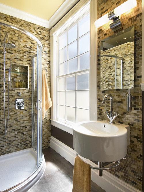 Odd shape bathroom houzz - Pics of small bathrooms ...